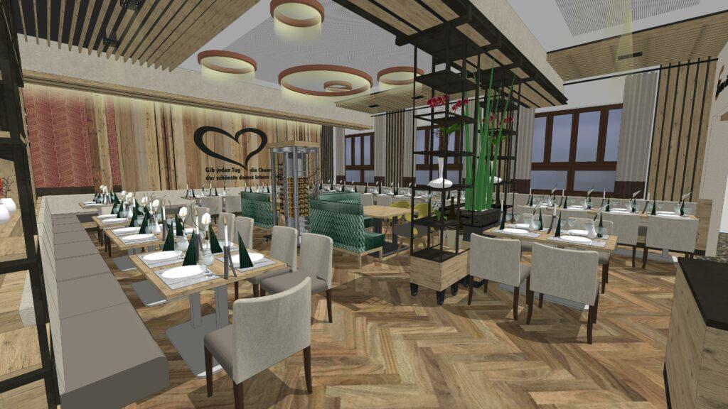 Neues Konzept für Saal im Gasthaus Ebner